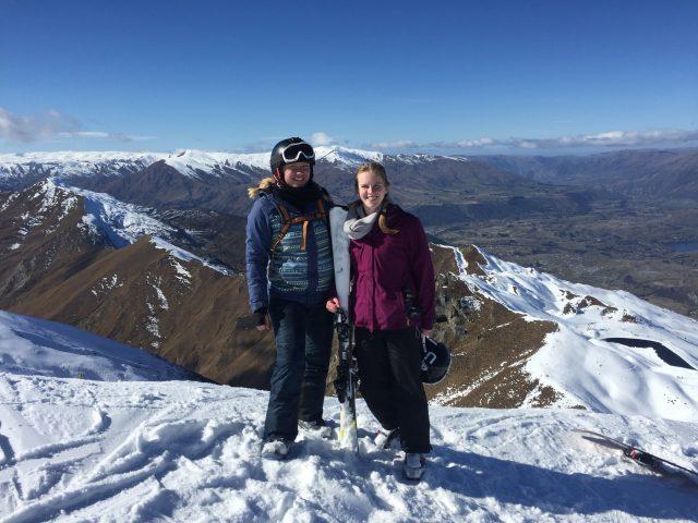 Snowboard fahren in NZ